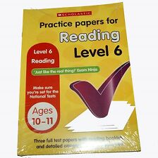 Practice Papers for Reading Level 6  (Age 10-11 Years)  SATs