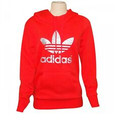 ADIDAS ORIGINALS 2015 Q1 WOMENs TF LOGO HOODIE SWEATER SHIRT S19825 SIZE M