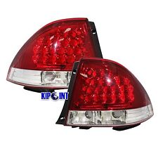For LEXUS IS200/IS300 1999-2005 LED Tail Rear Light - Red/Clear ALTEZZA