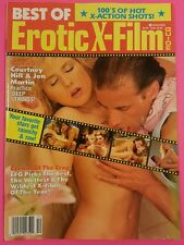 Vintage BEST OF EROTIC X-FILM GUIDE Magazine | Courtney Hill, Stephanie Rage XXX