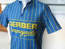 Gerber Campagnolo Giordano vintage bicycle cycling jersey from Italy