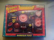 1995 Tyco Kitchen Littles Barbeque Feast *NEW* *COMPLETE* *NIB*