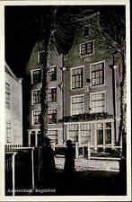 AMSTERDAM Briefkaart tolle s/w AK Holland Begijnhof Niederlande ca. 40/50er Jahr