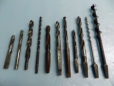 VINTAGE LOT OF 11 EACH DRILL BITS
