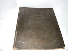 ATLAS FRANKLIN COUNTY 1925,INDIANA,BODA PRESS,WORLD WAR DATA,SCARCE ORIGINAL