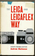 "A.Matheson ""The Leica and Leicaflex Way"" 1968 Leicaflex MK SL SL MOT  D536"