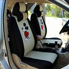 HOT New Mickey Mouse cartoon  Car Seat Covers 10pcs