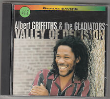 ALBERT GRIFFITHS & THE GLADIATORS - valley of decision CD