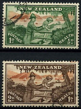 New Zealand 1946 SG#678-9 Health Stamps Used Set #C36554