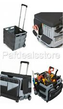 Rolling Tool Box Cart Organizer Storage Travel Portable Cabinet Bag Utility Work