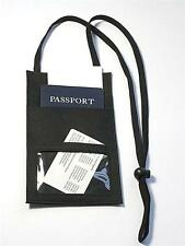 Travel Neck Wallet and Passport Holder