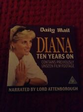 PRINCESS DIANA TEN YEARS ON DVD ROYAL FAMILY