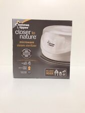 Tommee Tippee Closer to Nature Microwave Steam Sterilizer. NIB  # TB.