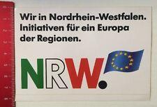 Aufkleber/Sticker: Wir In NRW-Initiativen Für Ein Europa Der Regionen (13031694)