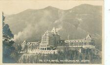 ALBERTA CANADA  BANFF BYRON HARMON RP CPR HOTEL & SULPHUR MT. #48 (BH20)