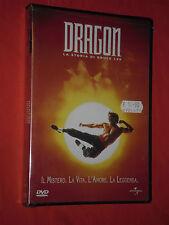 DVD FILM  DA COLLLEZIONE- DRAGON-STORIA DI BRUCE LEE-il mistero-SIGILLATO nuovo
