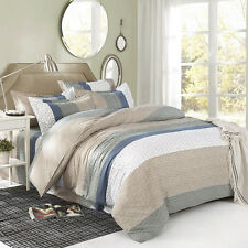 Royal Style Duvet Cover Quilt Cover Pillowcase Bed Set Queen Size L