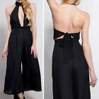 Sexy Women Cocktail Evening Party V Neck SLEEVELESS Jumpsuit Romper Long Pants