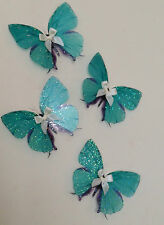 Turquoise Nursery Baby Fairy Dust Girls Bedroom Furniture Butterfly Accessories