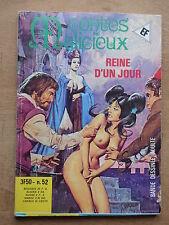 CONTES MALICIEUX n° 52  REINE D'UN JOUR   CHEZ ELVIFRANCE  (DOUDEAU/PLOMO)