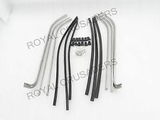 NEW VESPA PX PE LML FLOOR RUNNERS ALLY CHANNELS, RUBBERS & END CAPS KIT code 567