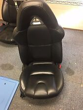 2004 2005 2006 2007 2008 MAZDA RX-8 FRONT RIGHT PASSENGER SEAT (BLACK LEATHER)