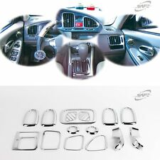 Chrome Interior Garnish Molding Trim Set for Hyundai Elantra Avante XD 2001-2006