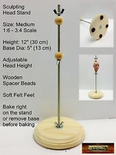 M01071 MOREZMORE Sculpting Doll Figure Head Armature Stand MEDIUM 1:6 - 1:2