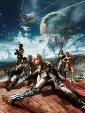 A1 FINAL FANTASY XIII VIDEO GAME LARGE WALL ART PAINTING PICTURE PRINT POSTER