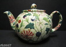 1 poterie croix Héron du bocage Chintz anglais 3 tasse pot de thé ou 2 tasses