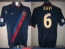 Barcelona XAVI Shirt Jersey Football Soccer Nike Adult XL Spain Top Espana 2002