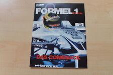 77535) BMW Formel 1 Spezial - BMW Magazin 2000