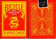 Red Dragon Deck - Bicycle by Magic Makers Poker Spielkarten
