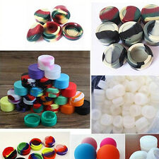 10Pcs/Set 5ML Non-stick Food-grade Silicone Mouth Wax Containers Hot Unique