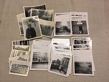(60+) 1966 Estate Family Photos Vacation in Great Britain Dated Black & White UK
