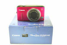 Canon PowerShot SX240 HS 12.1MP Digital Camera - Pink-Used