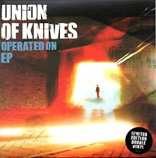 "UNION OF KNIVES - OPERATED ON E.P. - 2 x 7"" VINYL SINGLE SET - MINT"