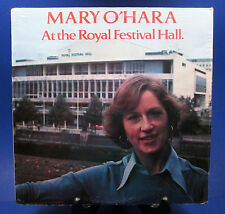 MARY O'HARA At the Royal Festival Hall LP live in 1977 celtic harp Carole King