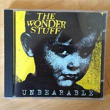 THE WONDER STUFF UNBEARABLE 1994 UK CD