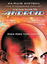 ANDROID The MOVIE with KLAUS KINSKI on a DVD Rare OOP Sci Fi ROBOT Vintage VIDEO