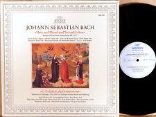 ARCHIV JS Bach RICHTER Cantatas #147 & #60 TOPPER Haefliger ENGEN 198 331 NM-