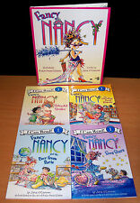 Big Lot of Fancy Nancy Books by Jane O'Connor - 1 HC, 4 PB I Can Read - VGC