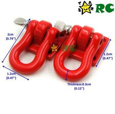 RC 1:10 Tow Shackle Bracket For RC Crawler Truck Truggy Accessory Upgrade Parts