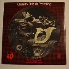 JUDAS PRIEST - The best of - 1977 ORIGINAL LP PICTURE DISC