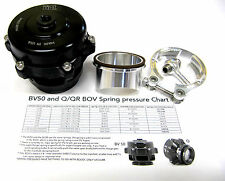 Tial Q Blow Off Valve BOV 50MM 10 psi  with Aluminum Flange New Version 2 Black
