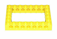 Missing Lego Brick 32532 Yellow Technic Brick 6 x 8 with Open Center 4 x 6