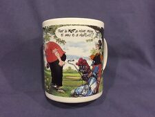 The Funny Side of Golf coffee cup,  by Gorden Fraser