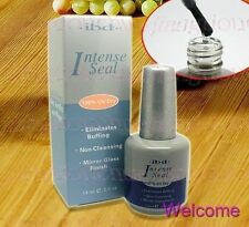 New IBD UV Gel Intense Seal 0.5 oz / 14ml Nail polish By Royal Mail