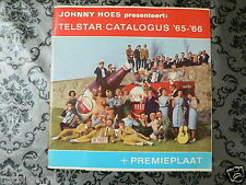 EP AMSTEL BIER TELSTAR CATALOGUS 65-66 PLUS PREMIEPLAAT JOHNNY HOES