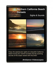 Northern California Beach Sunsets DVD video - Sights & Sounds, Romantic setting~